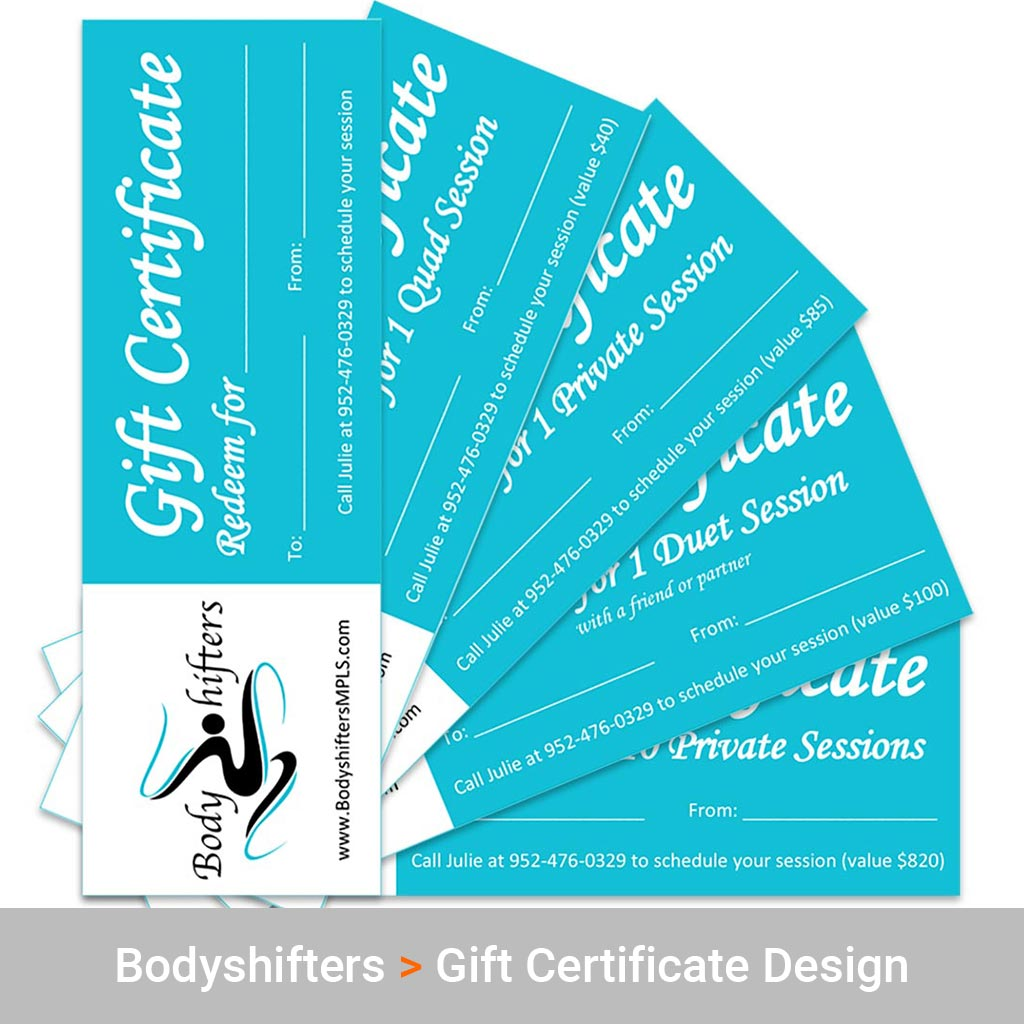 Production and Design Services for Bodyshifters