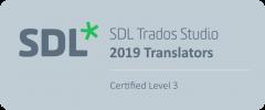 SDL Translator Certified Level 3